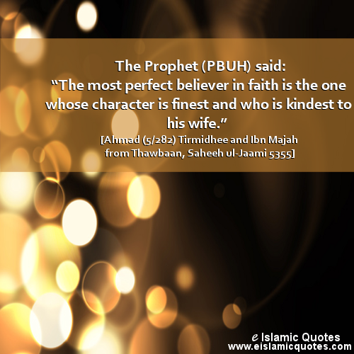 Muslim Quotes On Love Inspiration Islamic Quotes On Love Of Wife  Prophet Pbuh Peace Be Upon Him