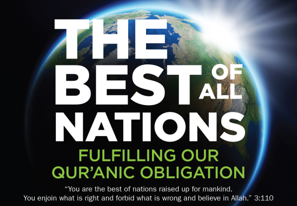 The best of nations raised up for mankind