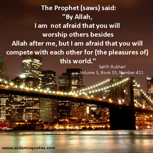 Islamic quote about life