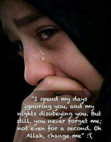 Ya Allah change me