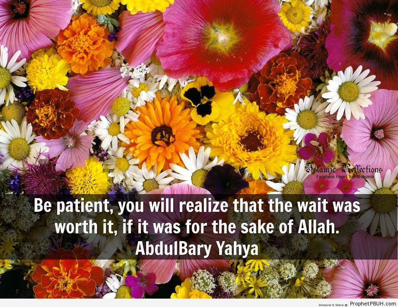 Abdulbary Yahya Quote- Be patient, you will realize& - Abdulbary Yahya Quotes