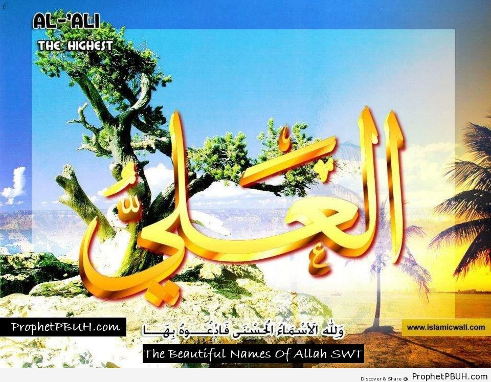 Al Ali - The Most High