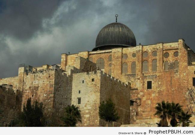 Al-Masjid al-Aqsa (Bayt al-Muqaddas) in Jerusalem, Palestine - Al-Aqsa Mosque (Bayt al-Muqaddas) in Jerusalem, Palestine