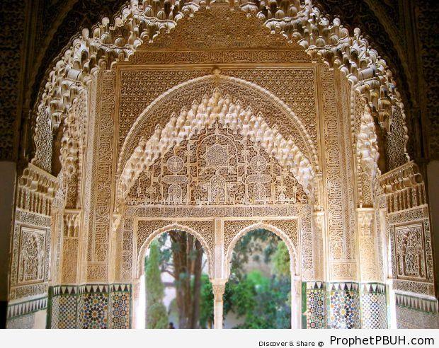 Alhambra, Granada, Andalusia - Alhambra Complex in Granada, Spain