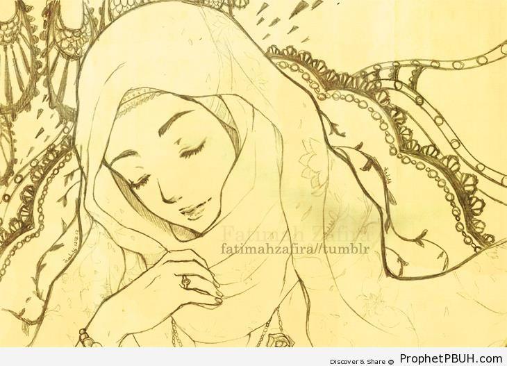 Anime Girl in Dreams - Drawings