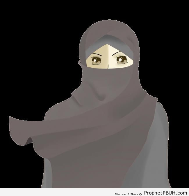 Anime Niqabi - Drawings