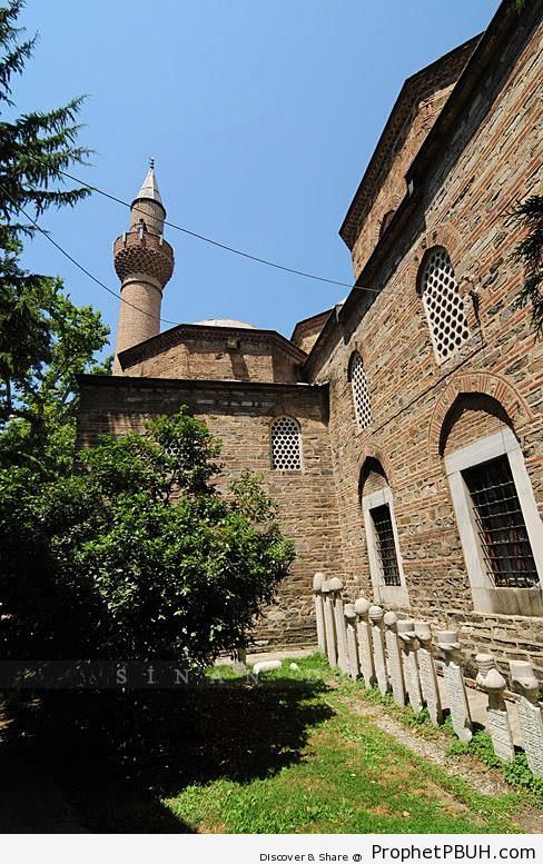 Ashak Paşa Mosque in Anegöl, Turkey - Anegöl, Turkey