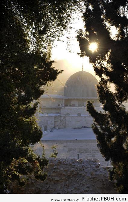 Bait al-Muqaddas (al-Aqsa Mosque) in Jerusalem, Palestine - Al-Aqsa Mosque (Bayt al-Muqaddas) in Jerusalem, Palestine
