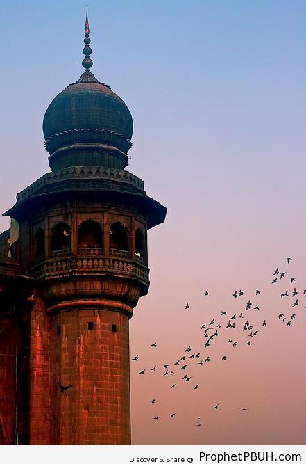 Minaret | Prophet PBUH (Peace Be Upon Him) Quran Quotes About Peace