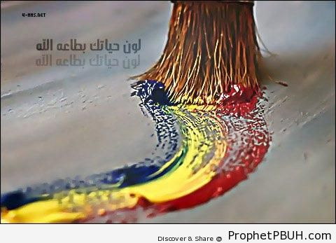 Color Your Life Quotes Amusing Color Your Life  Islamic Quotes About Ta`at And `ibadat Acts Of