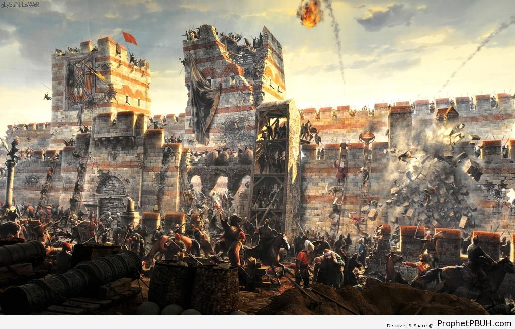 Conquest of Constantinople (1453 CE) - Drawings