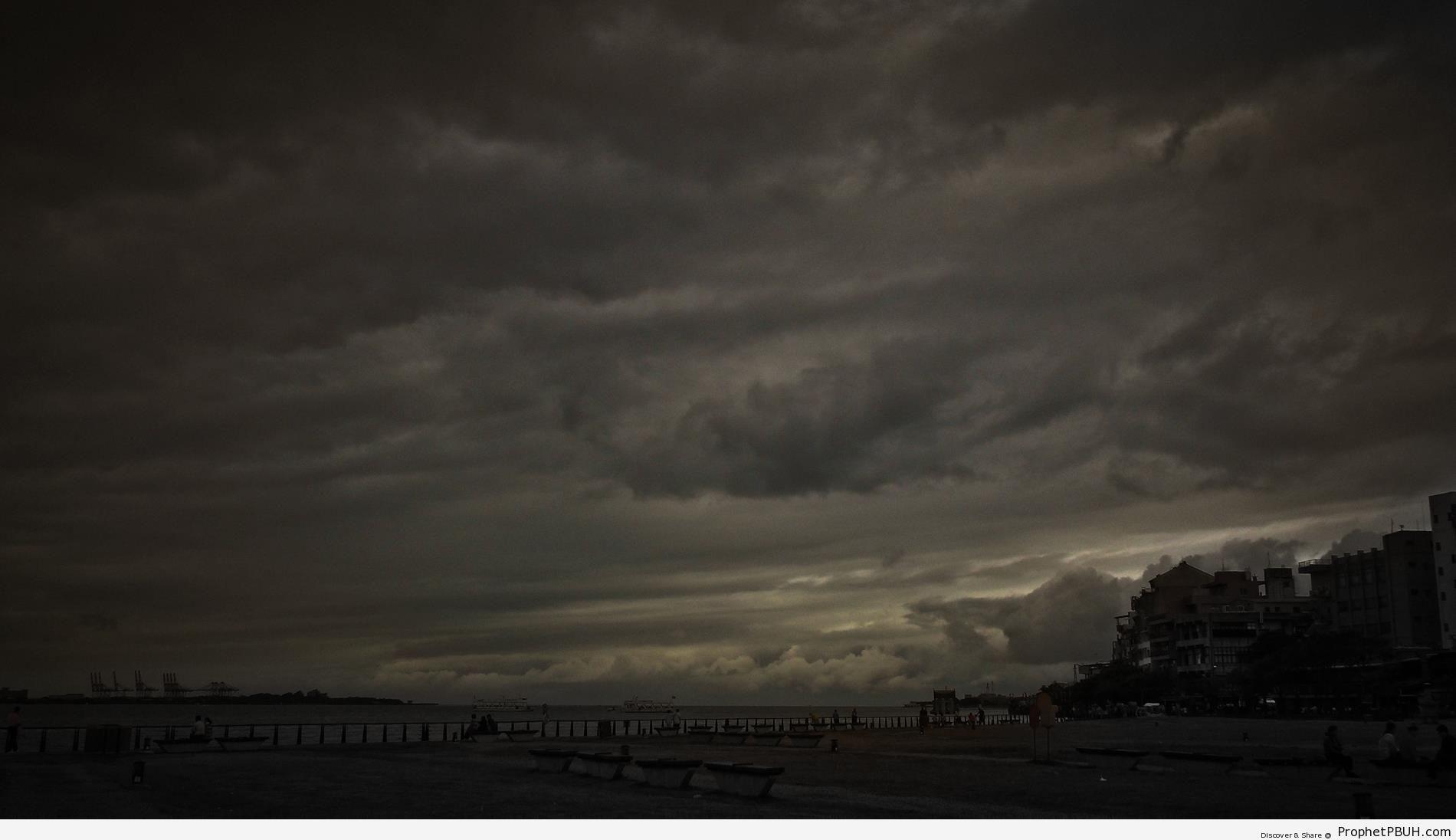 Dark Cloudy Sky (Royalty Free) - Artist- Cloud -