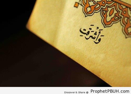 Day of Judgment Daybreak (Quran 39-69) - Islamic Quotes