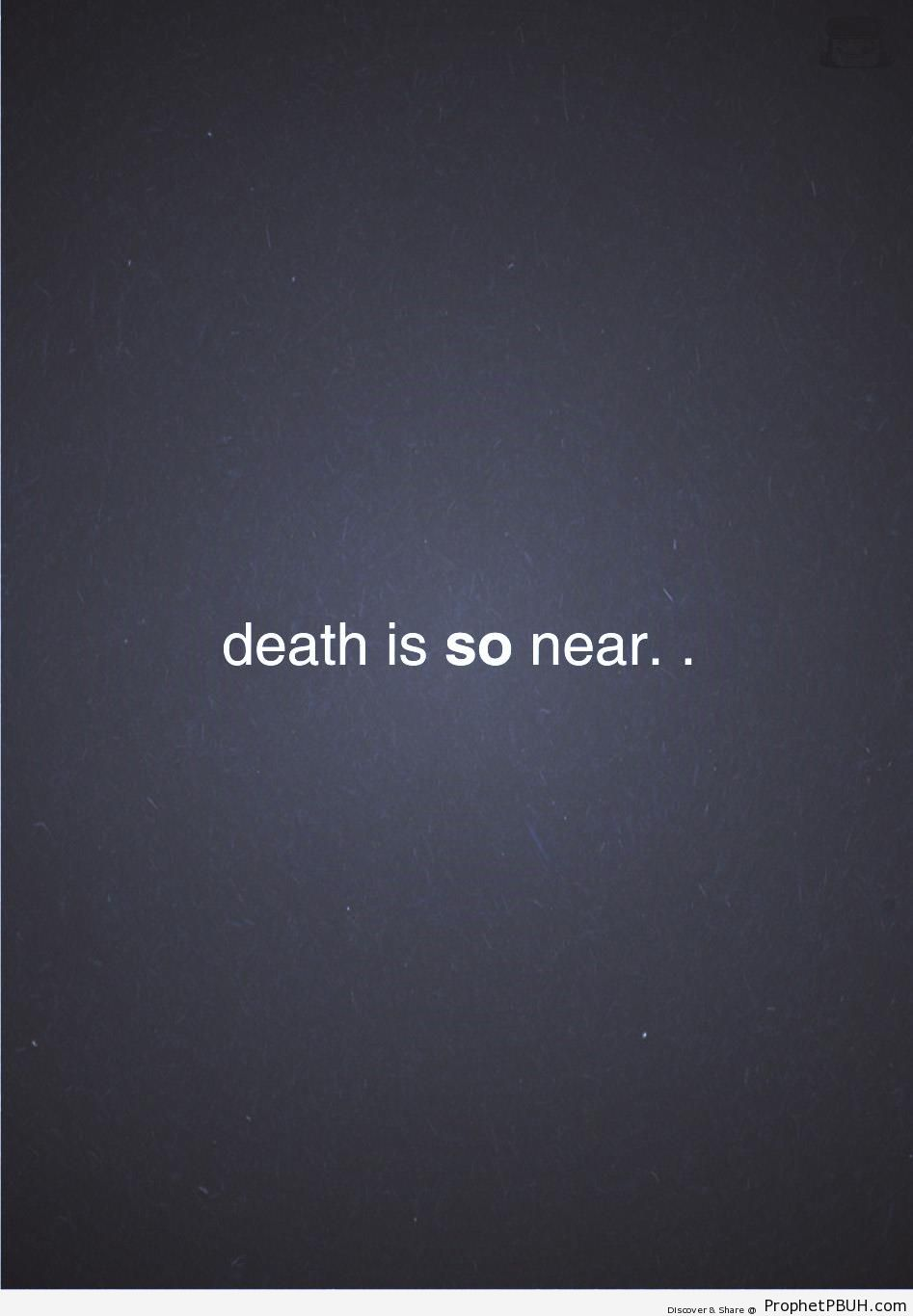 Death - Islamic Quotes About Death