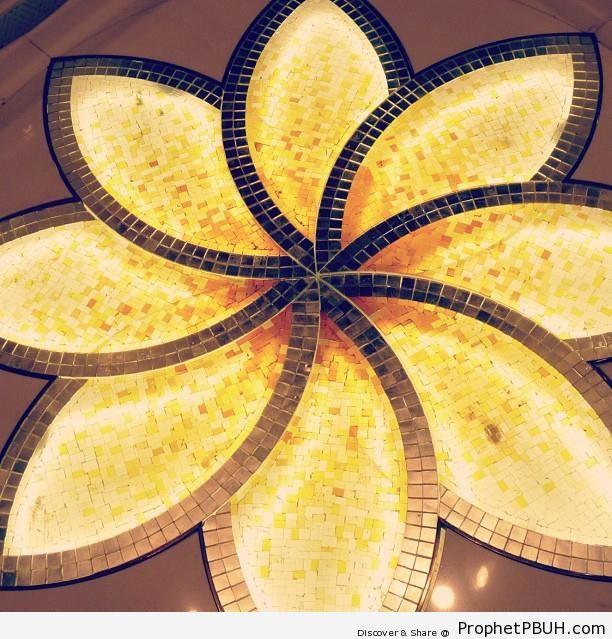 Decorative Floor Tile Arrangement at Sheikh Zayed Grand Mosque - Abu Dhabi, United Arab Emirates