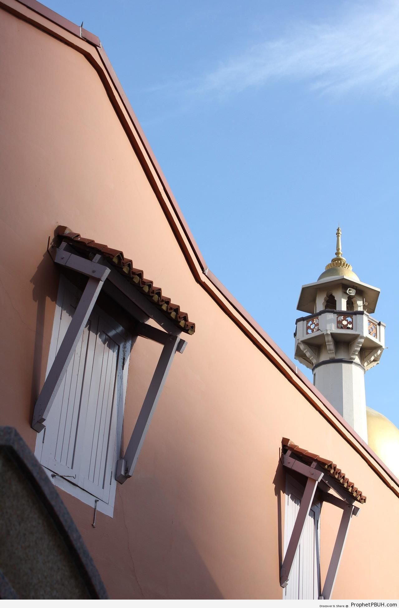 Early Morning Minaret (Kampong Glam, Singapore) - Islamic Architecture