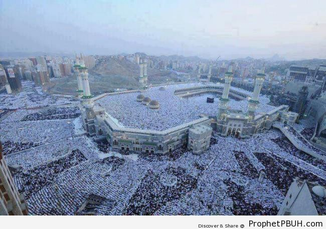 Eid al-Fitr Salah 1433 (2012) at Masjid al-Haram (More Than 2.5 Million Muslims Attended) - Photos