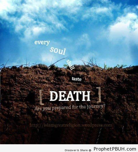 Every soul - Islamic Quotes About Death