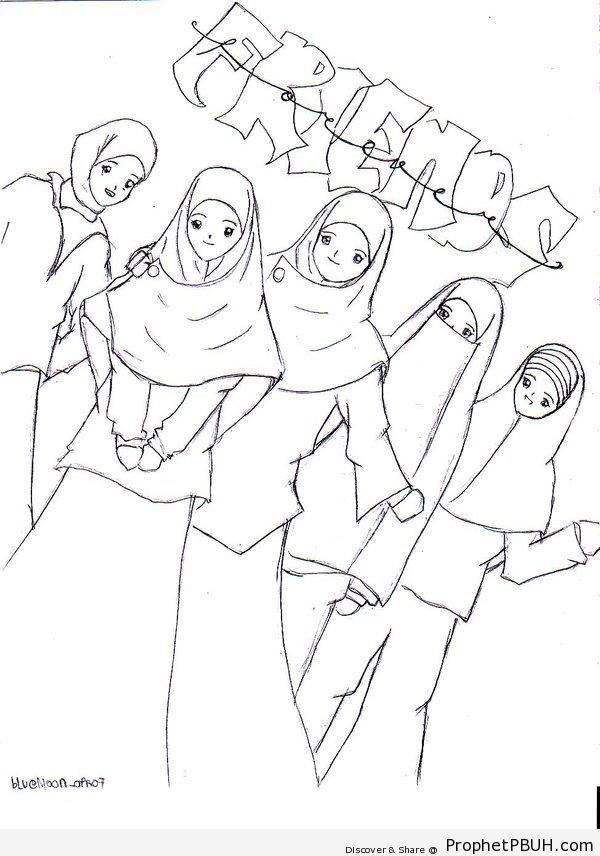 Friends - Drawings