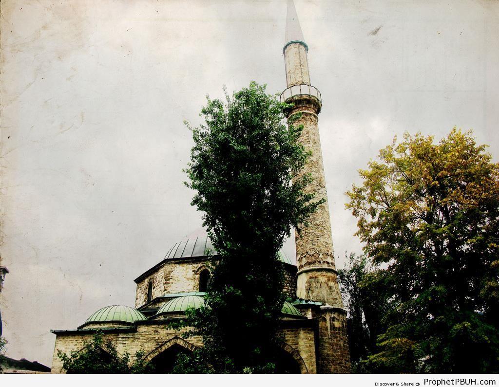 Gazi Husrev-beg Mosque in Sarajevo, Bosnia and Herzegovina - Bosnia and Herzegovina -Picture