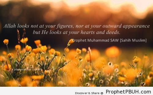 Hearts and Deeds - Islamic Quotes About Good Deeds