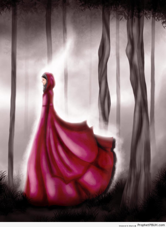 Hijabi in Wonderland - Drawings