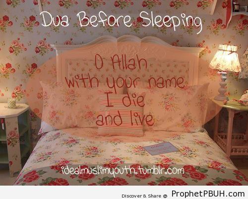 I Die and Live With Your Name (Dua Before Sleep) - Dua