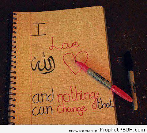 I Love Allah - -I Love Allah- Posters -003