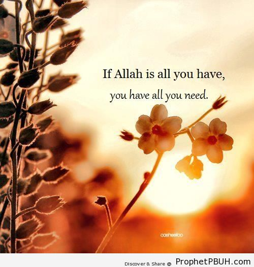 If Allah Is All You Have - -If Allah is All You Have- Posters
