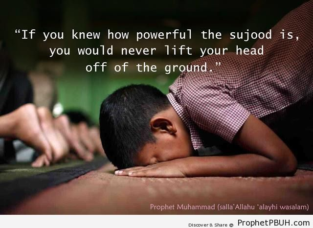 If You Knew How Powerful the Sujood Is - Drawings