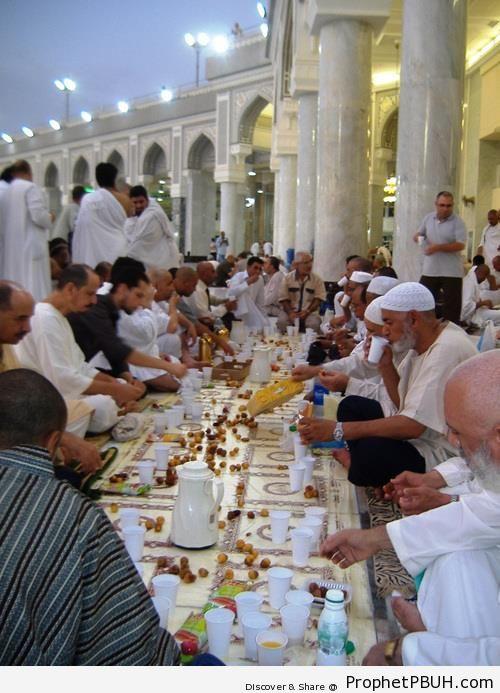 Iftar Photo (Ramadan 2012) - Photos of Male Muslims