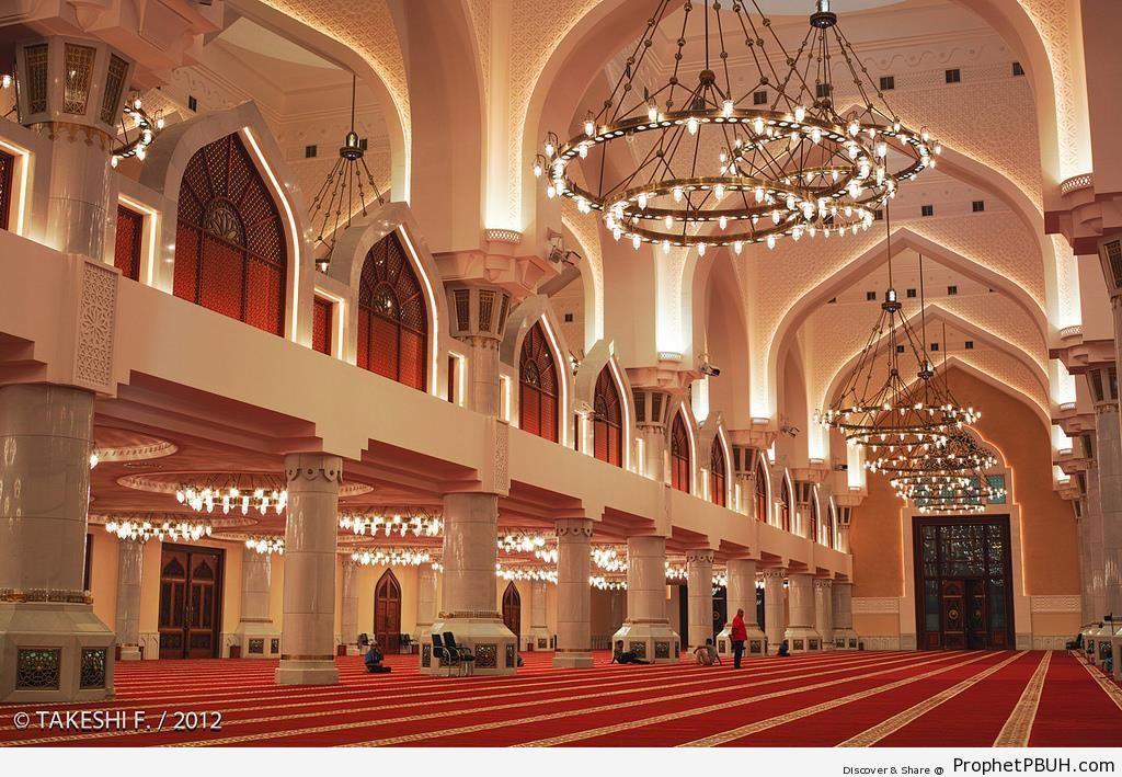 Imam Muhammad bin Abdulwahab Mosque (State Mosque) in Doha, Qatar - Doha, Qatar