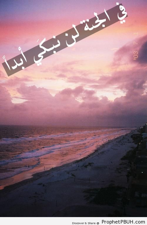 In Paradise - Islamic Quotes