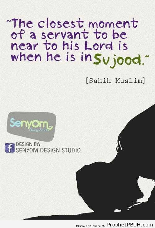 In Sujood - Hadith