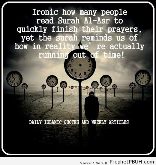 Irony - Islamic Quotes