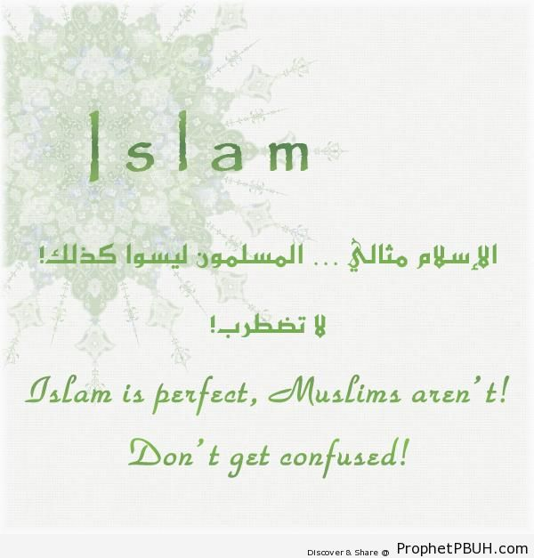 Islam is Perfect - Islamic Quotes About Islam's Superiority