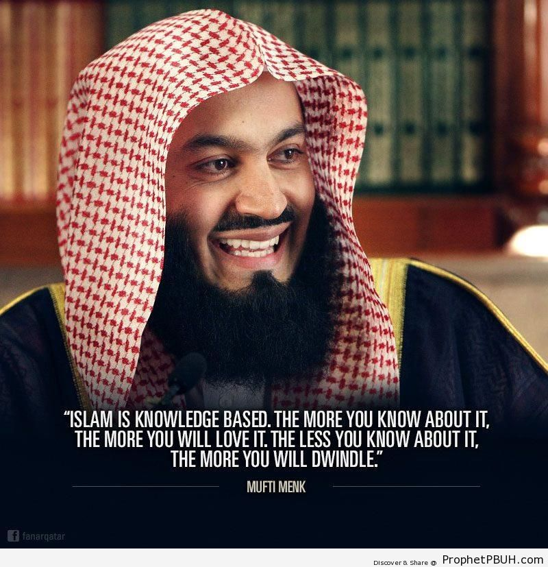 Islam is knowledge based - Islamic Quotes