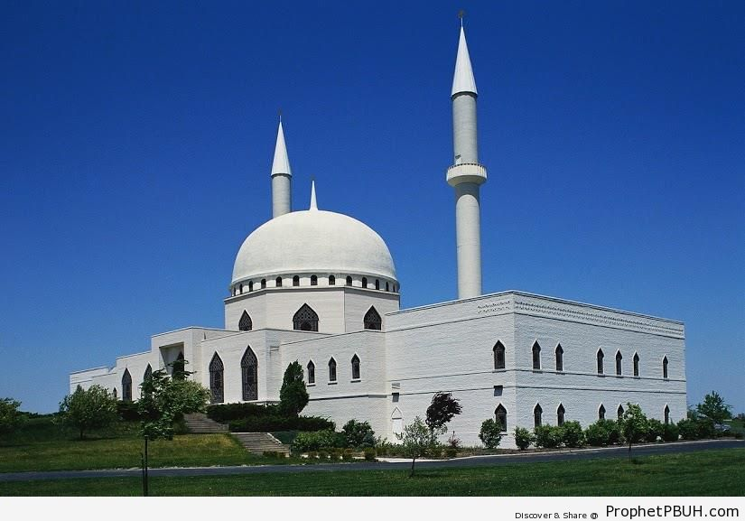Islamic Center of Toledo (Toledo, Ohio, taken 1993) - Islamic Architecture