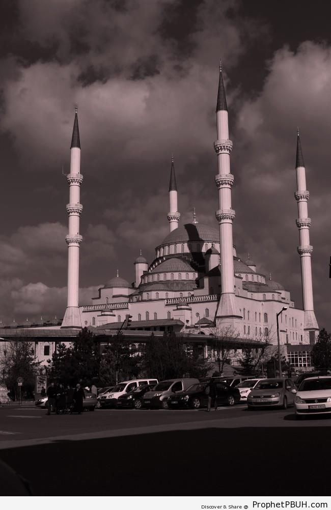 Kocatepe Mosque (Largest Mosque in Ankra, Turkey) - Ankara, Turkey