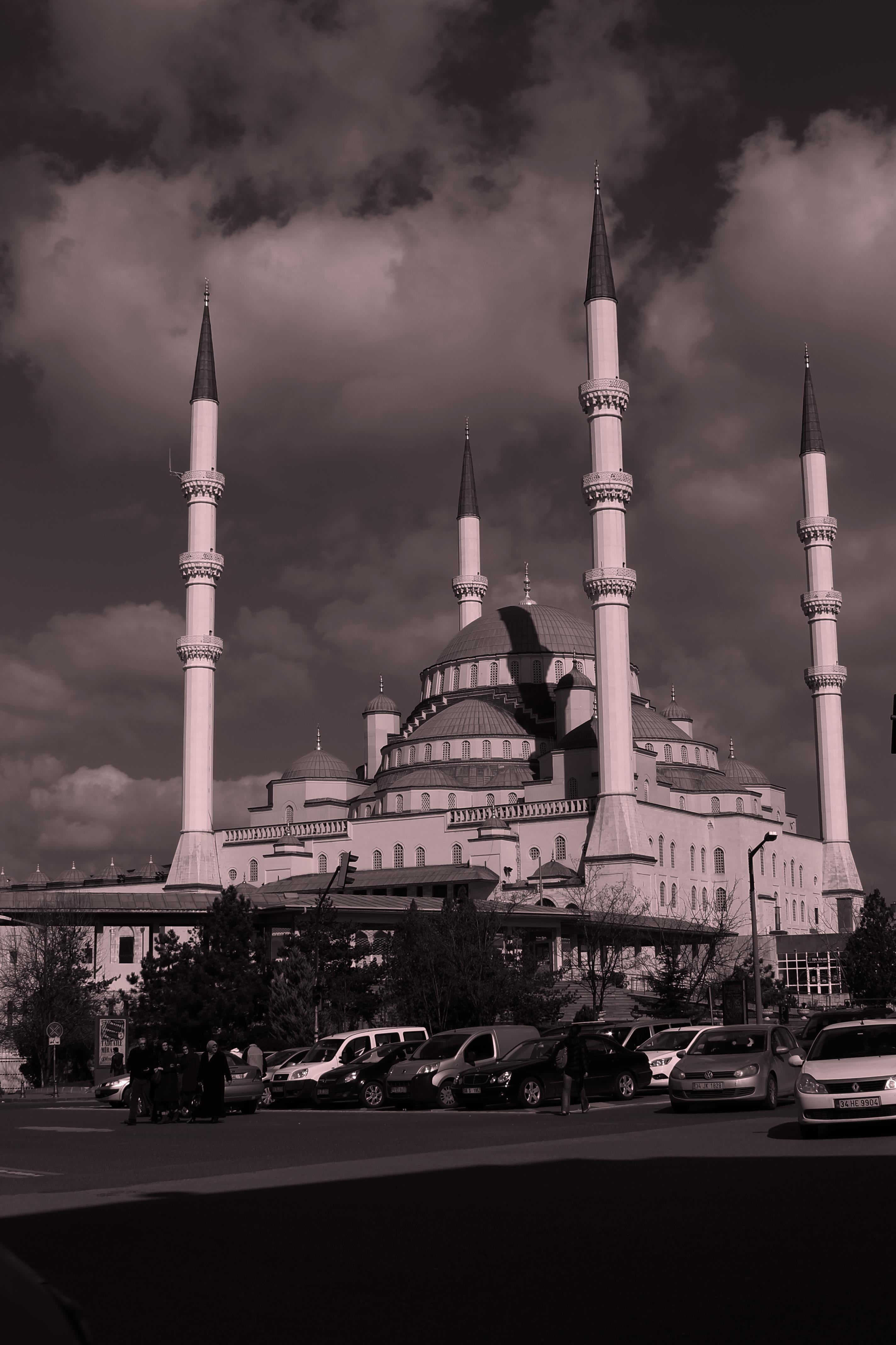 Kocatepe Mosque (Largest Mosque in Ankra, Turkey) - Ankara, Turkey -Picture