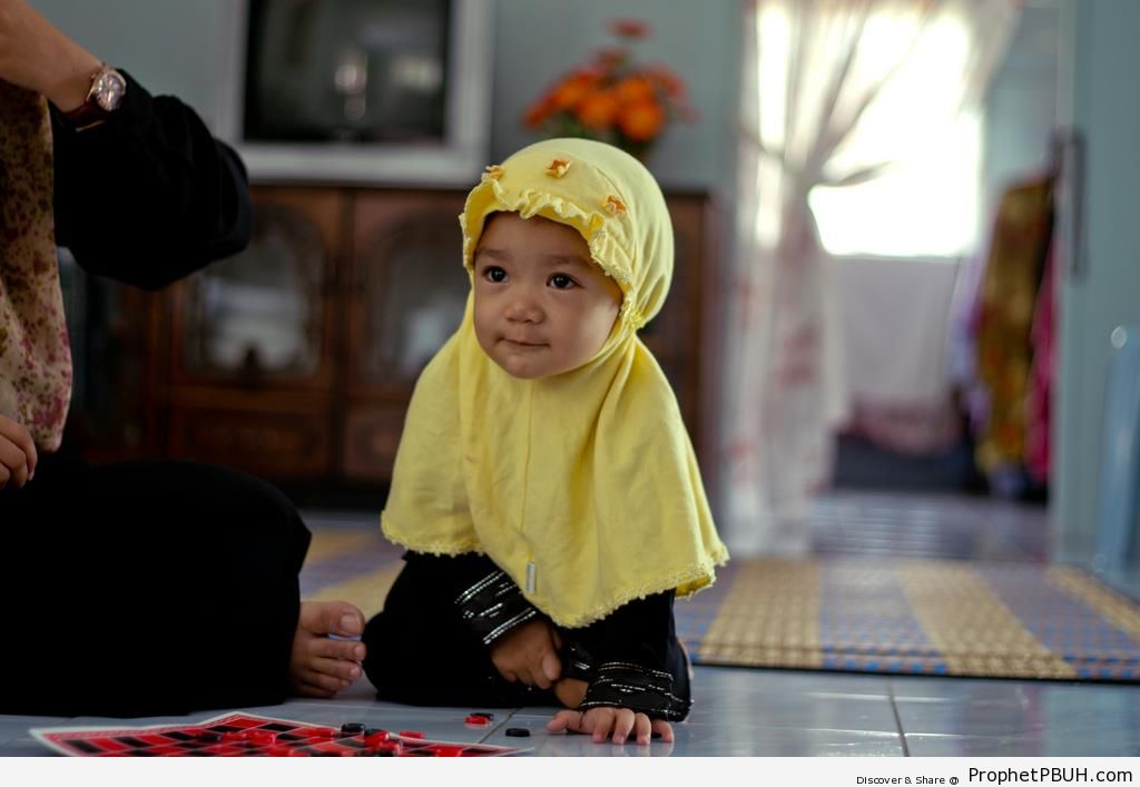 Little Girl Hijab
