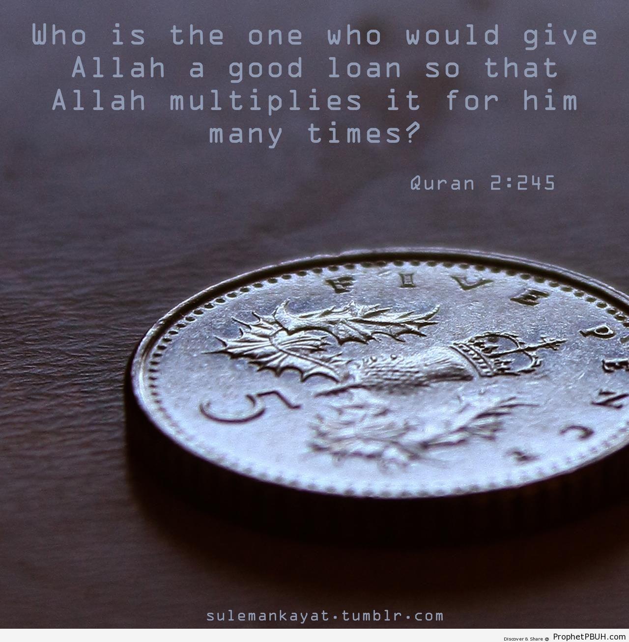 Loan - Islamic Quotes