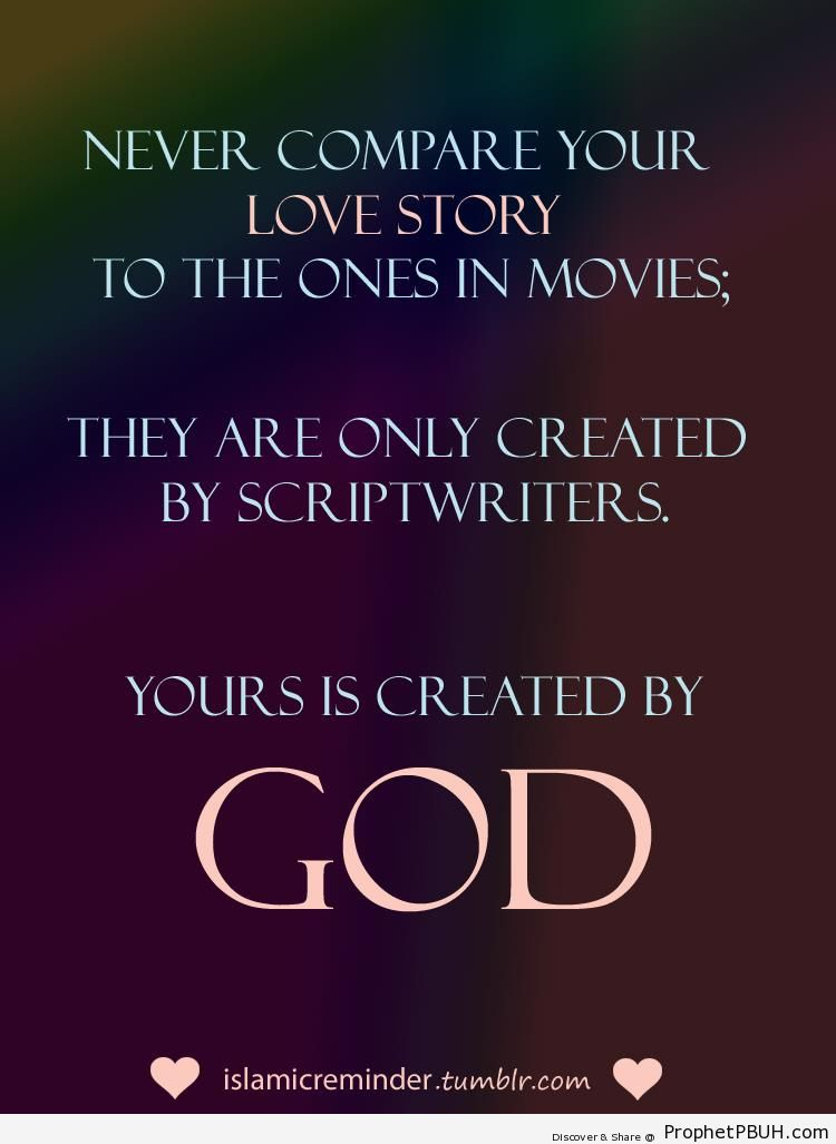 Love story - Islamic Quotes About Allah's Love for the Creation