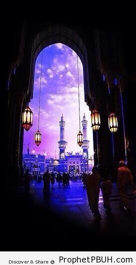 Makkah, Saudi Arabia - al-Masjid al-Haram in Makkah, Saudi Arabia