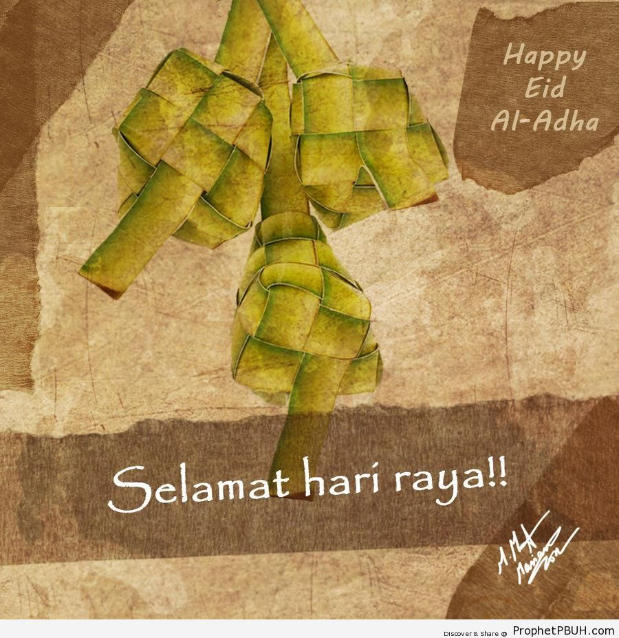 Malay Eid Al Adha Greeting Eid Al Adha Greetings And Wishes