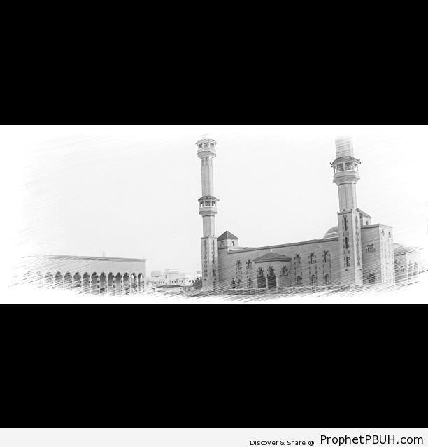 Masjid Awwad (Awad Mosque) in Riyadh, Saudi Arabia - Islamic Architecture