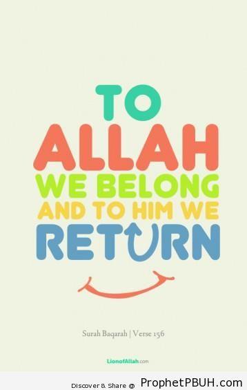 Meaningful Islamic Teachings (185)