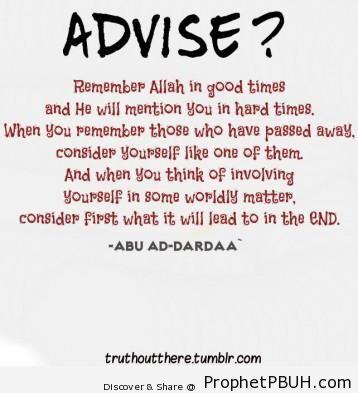 Meaningful Islamic Teachings (32)