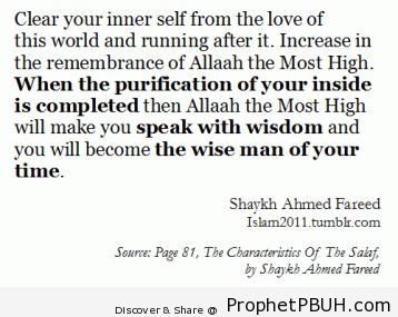 Meaningful Teachings of Islam (219)
