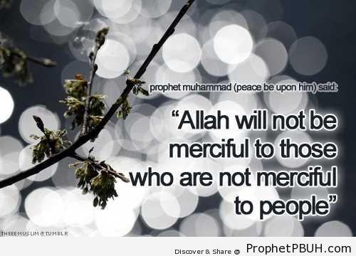 Mercy - Hadith